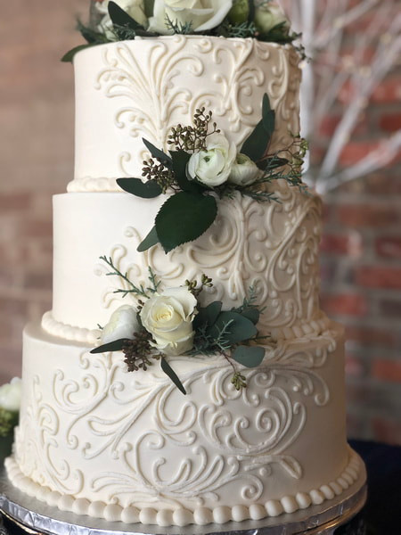 Picture Wedding Cake Bakery Dallas Belmont NC Gastonia NC